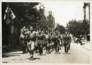 Desfilada commemorativa de la victòria de l'exèrcit franquista
