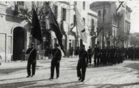 """Portada del programa de la festa de la """"Liberación"""" de Sant Boi de Llobregat. 1947."""